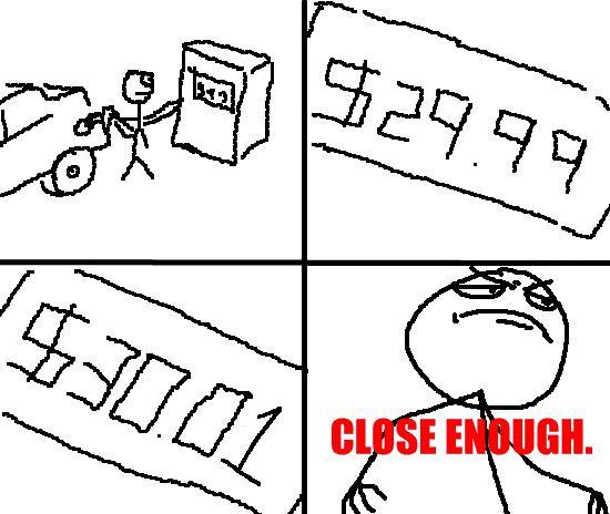 Autors: NaOH Close Enough! Komiksi