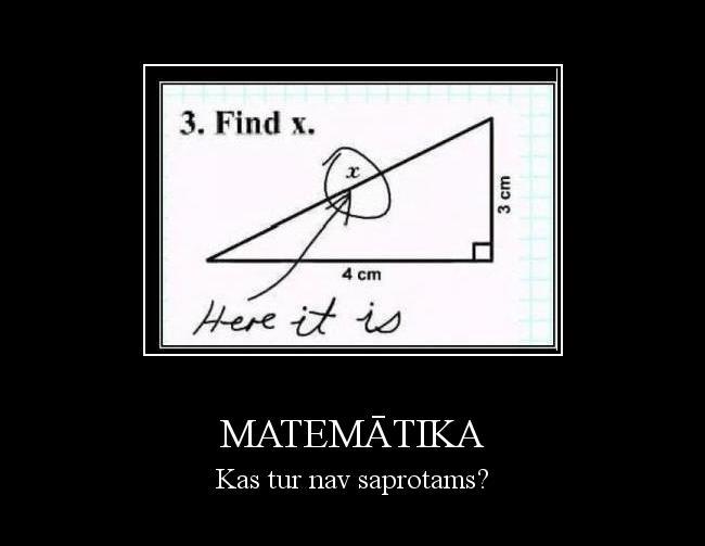 Autors: Lux Matemātika