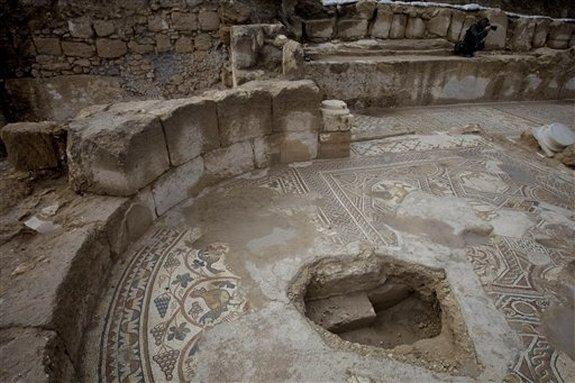 Autors: Fosilija Izraēlā atrasta 1500 gadus veca baznīca