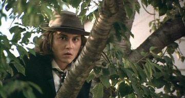 """kokā sēdošais dīvainis Autors: Fosilija Filma """"Benijs un Džūna""""."""