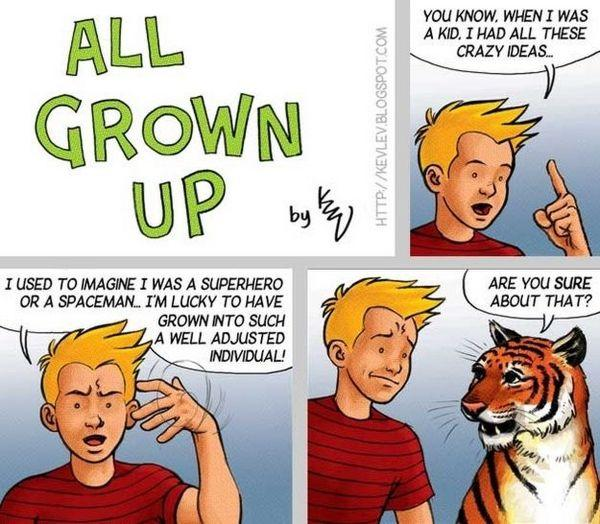 Calvin amp Hobbes Autors: CMONLYY Multeņu varoņi arī aug.