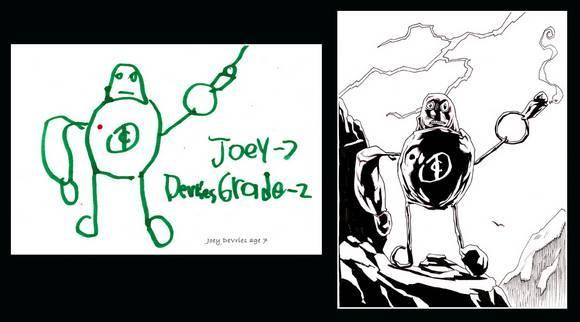 Autors: narami Pārveidoti bērnu zīmējumi