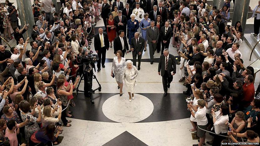 Lielbritānijas karaliene... Autors: žeņa Week in pictures: 15-21 Oktobris