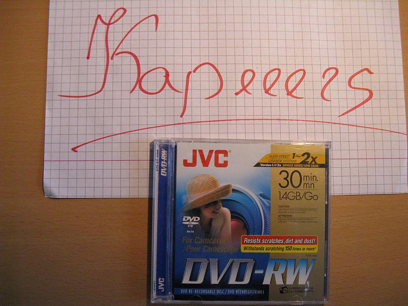 Autors: Kapeeers ...Kaut kas no JVC...
