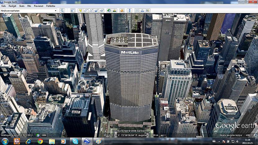 MetLife Building Autors: Amerikas Patriots My New York In GoogleEarth.