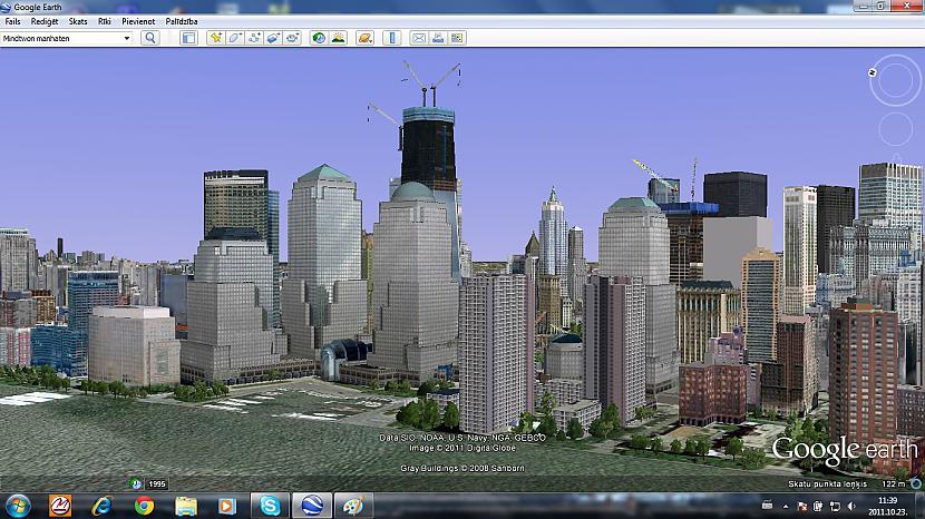 Battery park buildings Autors: Amerikas Patriots My New York In GoogleEarth.