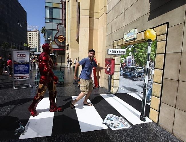 Autors: Administrācija 3D mākslas darbi uz ielas