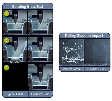 Gorilla Glass ir vairākas... Autors: Kowalski Gorilla Glass.