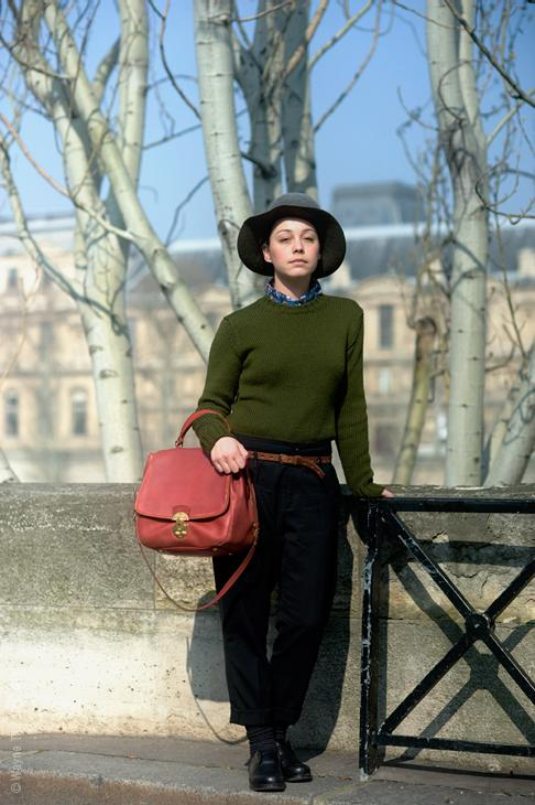 Autors: gārfilds Parīzes stils.