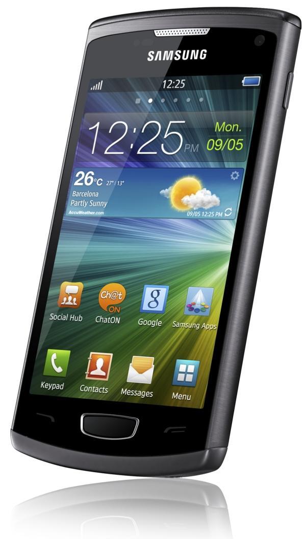 Jauda elegantā metāla... Autors: HHRonis Samsung sāk Wave 3 viedtālruņa pārdošanu.