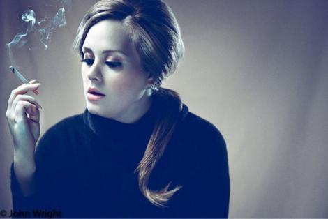 Adele  šobrīd dziedātāja atmet... Autors: titiuu Slavenību kaitīgie ieradumi