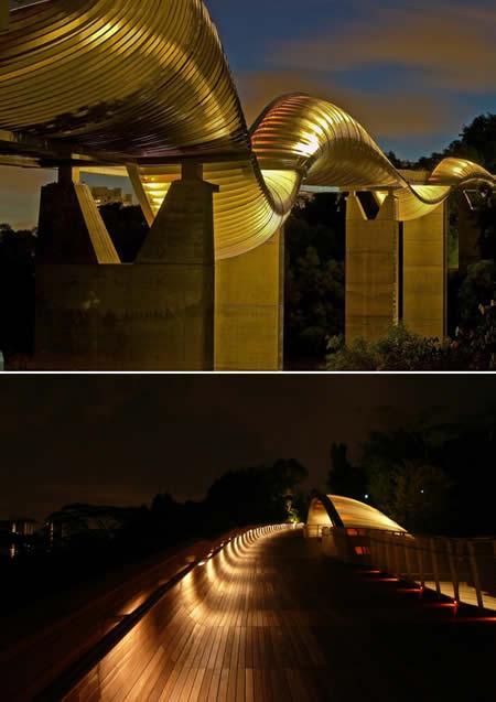 Šis tilts atrodas Singapūrā... Autors: wildkuilisNEWS6 Pasaulē iespaidīgākie tilti