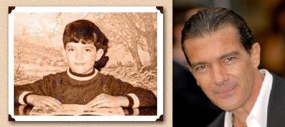 Antonio Banderas Autors: Kobis Filmu zvaigznes jaunībā un tagad
