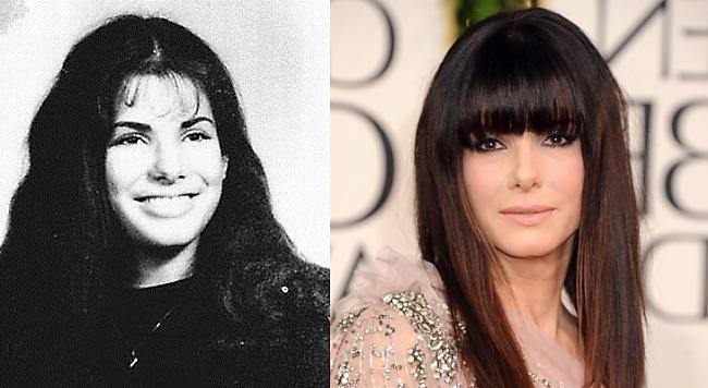 Sandra Bullock Autors: Kobis Filmu zvaigznes jaunībā un tagad