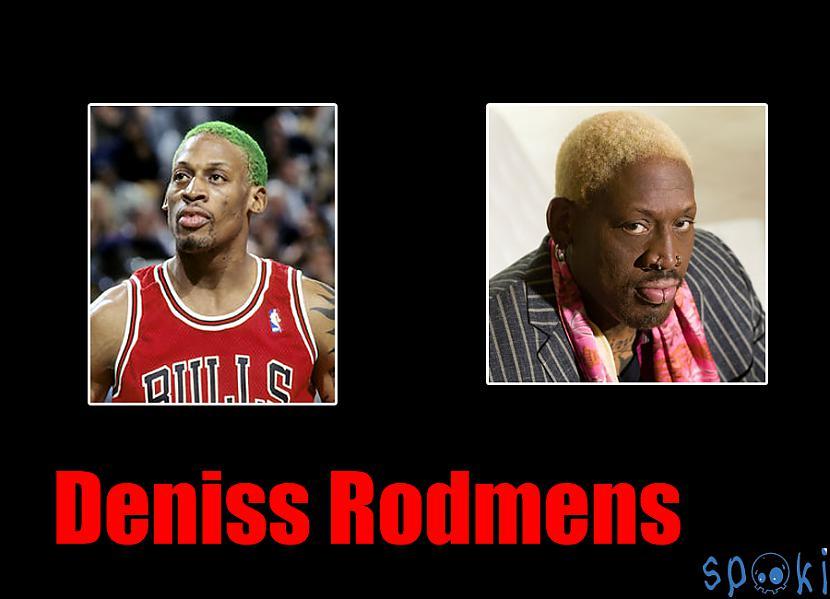 Deniss Kīts Rodmens  Dennis... Autors: kruuz Basketbolisti tad un tagad ( NBA )