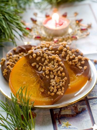Autors: Ženādijs Karamelizēti apelsīni šokolādē