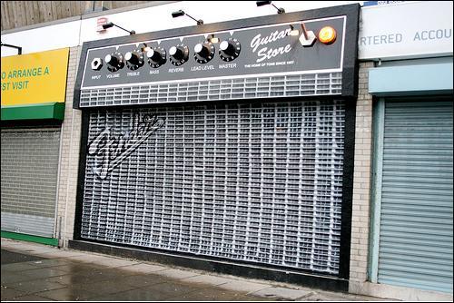 Parasts ģitaras veikals... Autors: kruuz Tu neticēsi, tas nav Photoshop