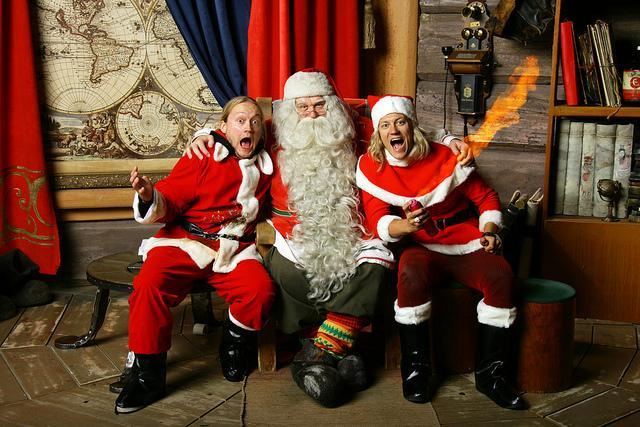 1300 Santa Klauss ieradīsies... Autors: pofig Latvijā viesosies Pasaules galvenais Ziemassvētkuvecītis