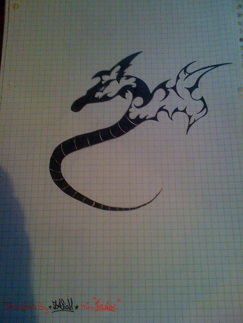 Drago Autors: ZaSiCh Some my drawing