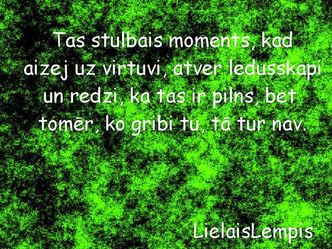 Autors: LielaisLempis Tas stulbais moments, kad.. /4