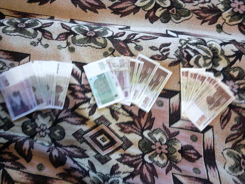 Un nauda kopumā 23 banknotes ... Autors: Noob53 Veiksmīgs atradums :P