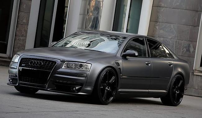 Projekts ieguva nosaukumu S8... Autors: Generic Audi S8