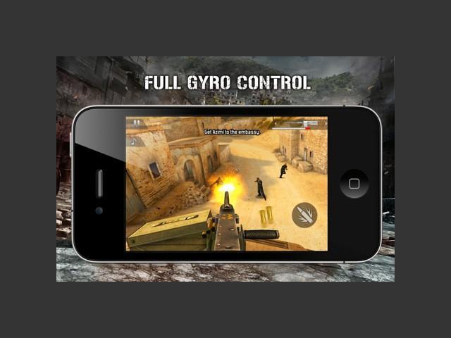 Šī ir Modern Combat sērijas... Autors: Crop Jaunākais Modern combat 3 ios un android ierīcēm.
