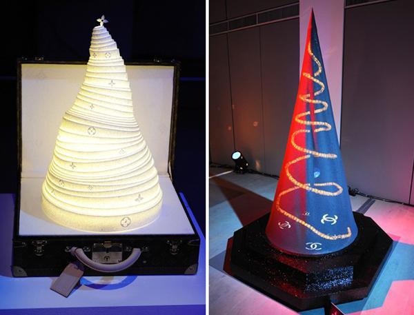 Autors: Baltais Koška Dizaineru veidotas eglītes.