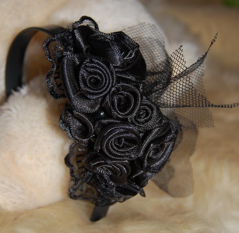 Melnu rožu matu stīpiņa Autors: Aesthetica Aesthetica91