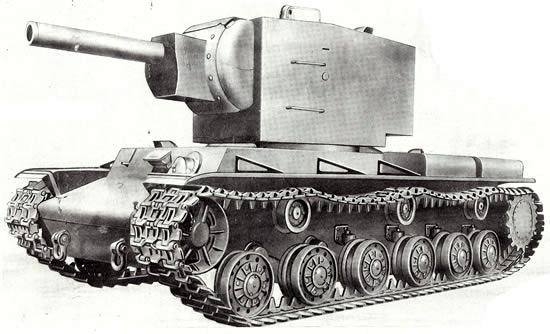 Autors: Fosilija Krievu smagais tanks KV-2