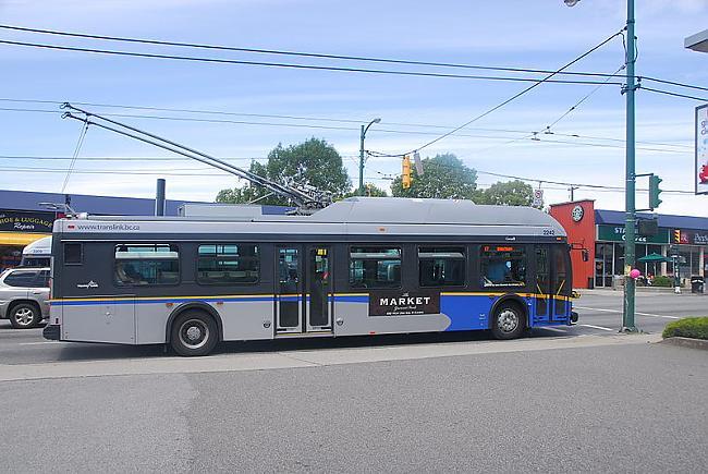 Kanādas trolejbusi Autors: trions Trolejbusu satiksme pasaulē