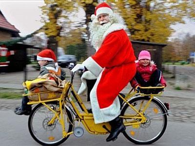 Ja Santa brauktu ar moci kāds... Autors: Eddiematic Jautri Ziemīšu joki