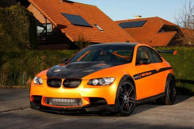 Manhart speciālisti jaunajā... Autors: Fosilija 'Manhart' pārveidotais 'BMW M3' ar