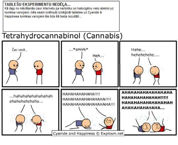 Autors: dagelio Cyanide & Happiness {Drugs Edition}