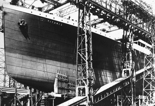 Uz eliņa Autors: Grebe Titanic pirmais un pēdējais jūrasbrauciens