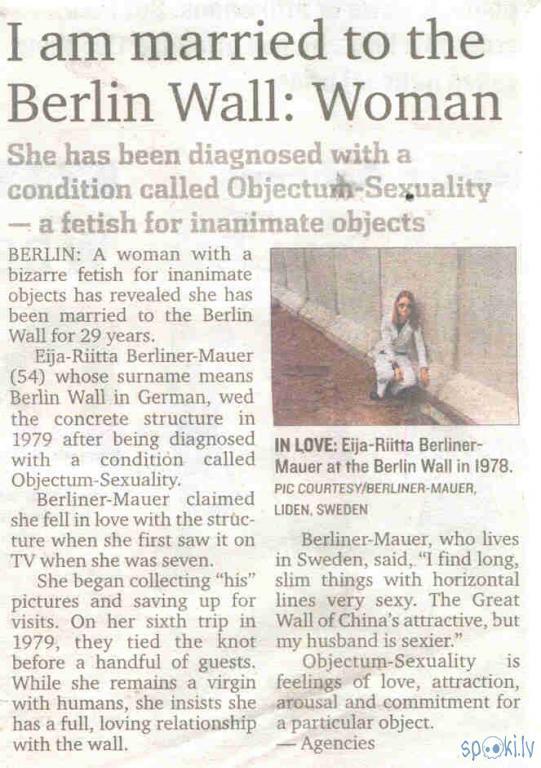Raksts kādā avīzē par šo... Autors: Lieutenant Drebin Dīvainā Orientācija xD