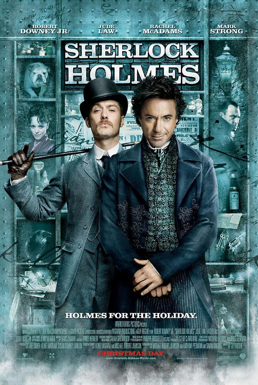 Sherlock Holmes2009 Autors: Fosilija Filmu mīļiem - Sherlock Holmes