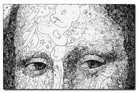Visa glezna ir veidota no... Autors: Ibumetīns 8 Pārsteidzoši mākslas veidi.