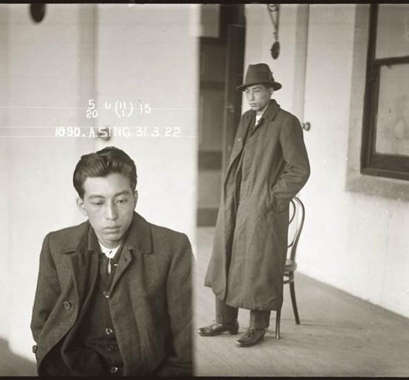 Šis aziātiskā paskata cilvēks... Autors: Santa Maria de Claus Gangsteri 20. gadsimta sākumā