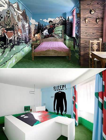 Arī scaroneit ir liels hotelis... Autors: AldisTheGreat 12 Superīgas guļamistabas.