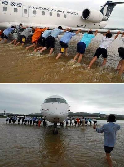 Kad šī lidmašīna iesprūda... Autors: AldisTheGreat Tikai Ķīnā!