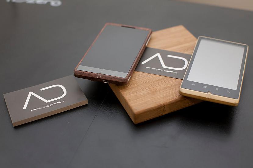 Īsumā sakot ADzero būs Android... Autors: Crop Pirmais viedtalrunis ar bambusa korpusu.