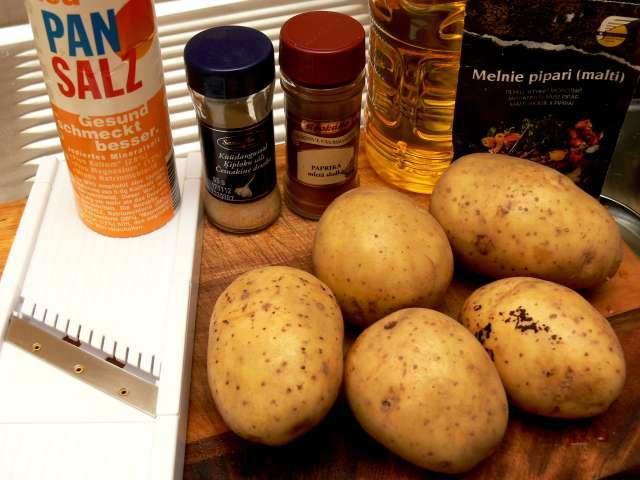 Sastāvdaļas  1 pieciseši... Autors: Akumulators Kartupeļu čipsi