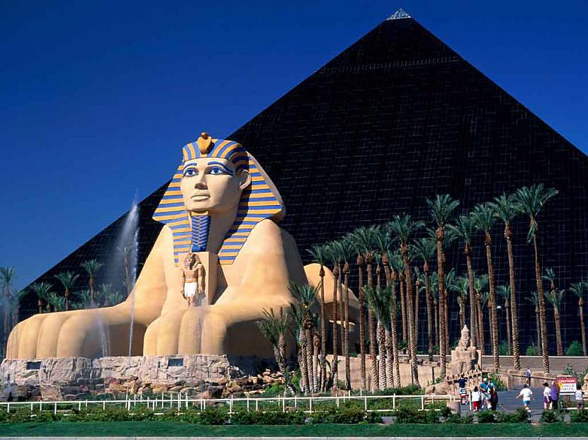 Las Vegas Sfinkss Autors: reinars22 Pasaules skaistākās celtnes.