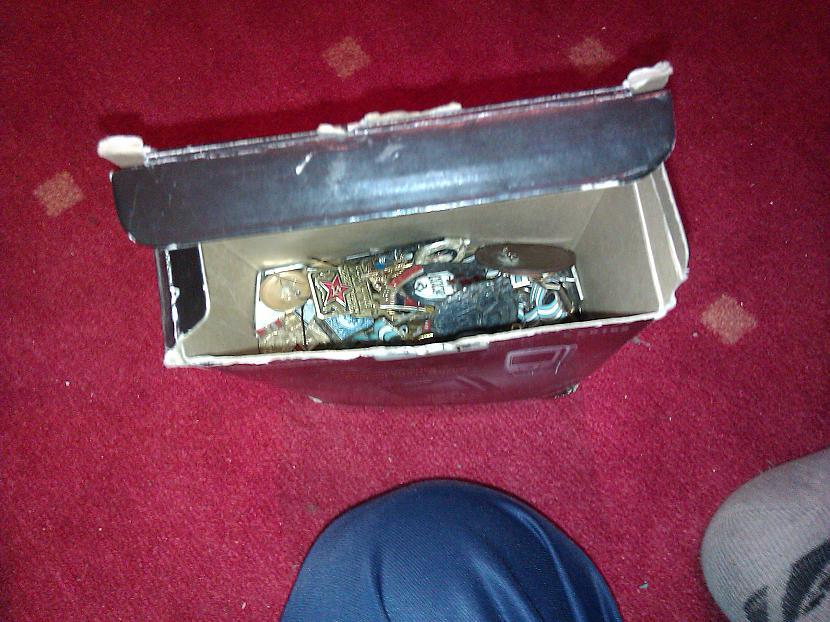 Atverot vaļā kastīti tā ir... Autors: Finčš Mana kolekcija