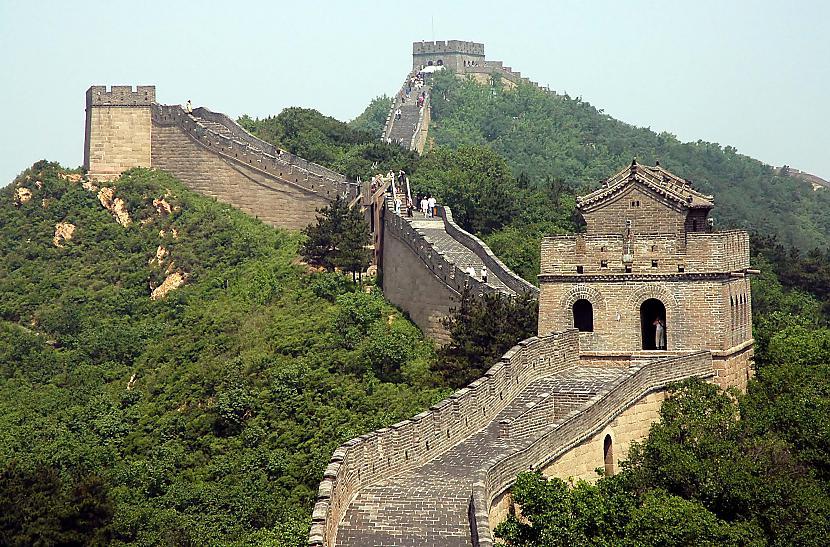 Ķīnas mūris ir vienīgā manmade... Autors: Budzisss Domāji,ka esi gudrs?  --> padomā vēlreiz :D