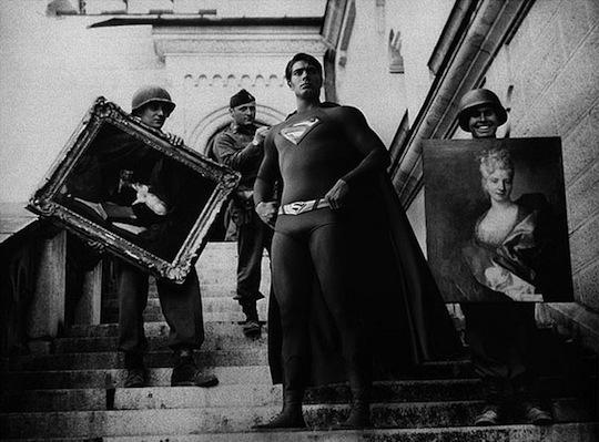 Supermens aizsargā vērtīgus... Autors: Xmozarus Supervaroņi vecajās kara bildēs