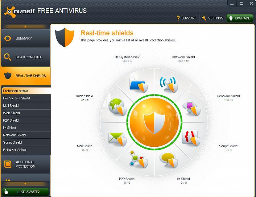 Gala rezultātā web shield... Autors: BoyMan Testējam antivīrusu. /2/