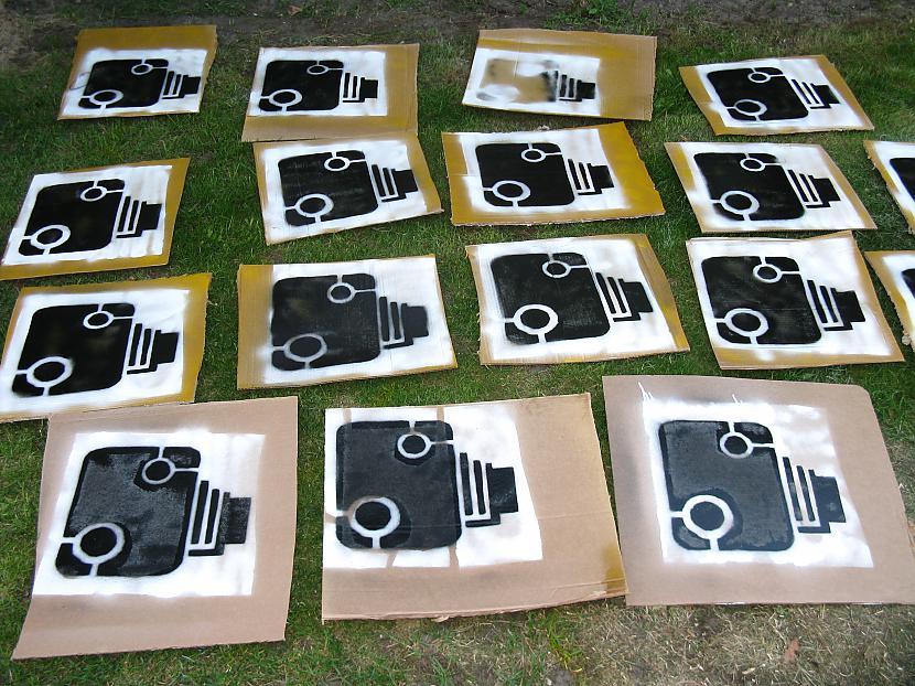Brīdinājuma zīmes jeb plakāti Autors: BoyMan Cīņa pret fotoradariem!