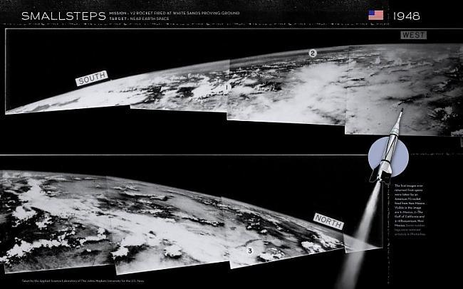 nbspPagājuscaronā gadsimta 40... Autors: Moonwalker Episkās Zemes bildes no kosmosa